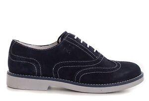 NERO GIARDINI P734100M TEEN scarpe donna francesina mocassino inglesina sneakers