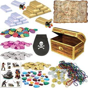 piraten schatzsuche mottoparty kindergeburtstag mitgebsel deko party set schatz. Black Bedroom Furniture Sets. Home Design Ideas