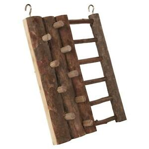 Trixie-Natural-Living-Climbing-Wall-Toy-with-Ladder-Hamsters-Mice-20x16cm-Wood