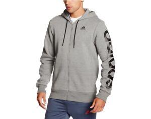 venta de bajo precio recoger comprar real Adidas Hombre Deporte Esencial Lineal Sudadera con Capucha y ...