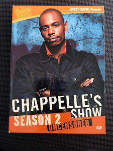 Chappelles-Show-Season-2-Uncensored-DVD-2005-3-Disc-Set-Region-1