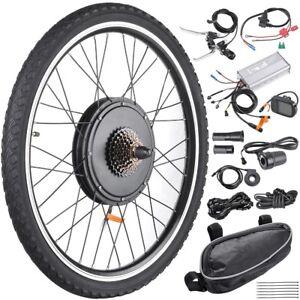 48V-1000W-Rear-Wheel-Electric-Bicycle-E-Bike-Conversion-Kit-Cycling-Motor-w-LCD