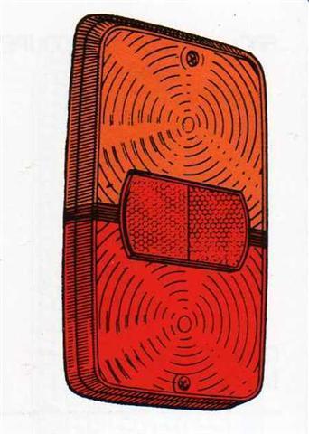 Plastica fanalino posteriore Fiat 238-241 TN
