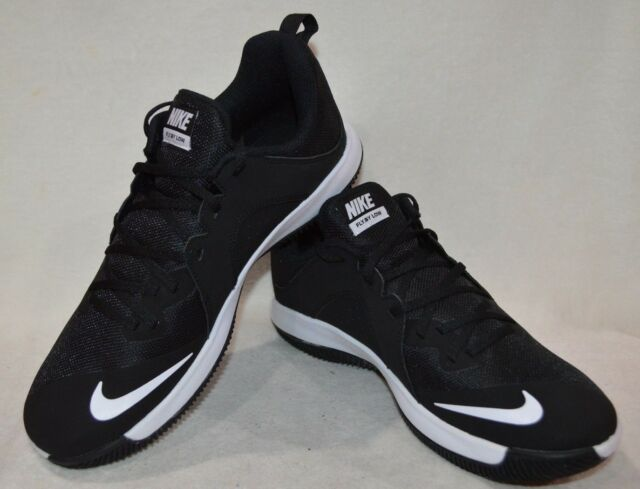 683ae144595 Nike Fly.By Low Black White Men s Basketball Shoes-Assorted Sizes NWB 908973