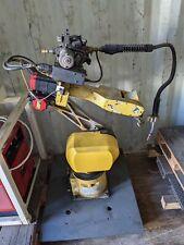 Fanuc Arc Mate 100ib Rj3ib Welding Robot Lincoln 455 Power Supply