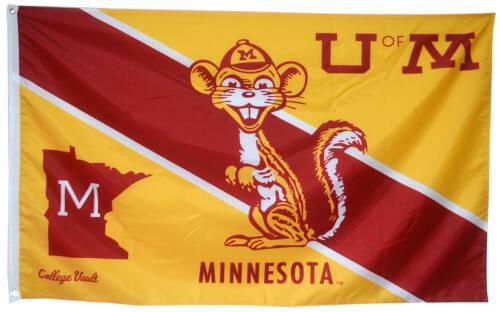 University of Minnesota Flag NCAA 3x5ft banner US Seller