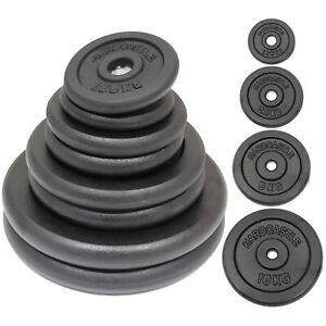 CAST-IRON-WEIGHTS-STANDARD-1-034-HOLE-HOME-GYM-WEIGHT-PLATES-DISCS-TRAINING-LIFTING