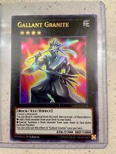 Japanese Yugioh Gallant Granite CHIM-JP036 20th secret Rare