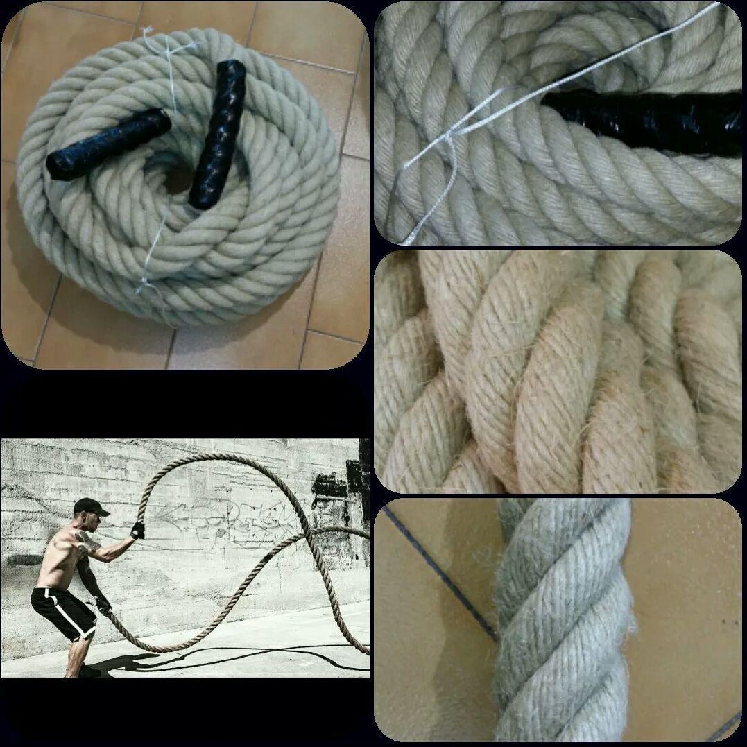 Rope Carry Rope 30mm (3cm) Hemp Crossfit Beat Mma Boxing Rope Battle
