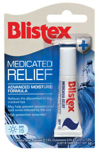BLISTEX-MEDICATED-RELIEF-Lip-Balm-6G-ADVANCED-MOISTURE-FORMULA-CRACKED-CHAPPED