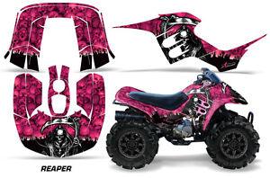 ATV-Graphics-Kit-Decal-Sticker-Wrap-For-Honda-TRX-90-Maier-1993-2005-REAPER-PINK