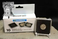 20 ✯ Mercury Dime Coin Snap Capsule 18mm Lighthouse Quadrum 2x2 Storage Display