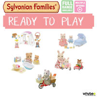 Sylvanian Families Ready To Play Range Choose Your Set Brand In Box