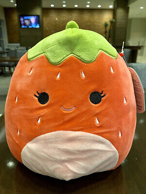 """*NEW* Squishmallow 8"""" Cherry Fruit Collection HTF"""