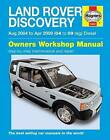 Land Rover Discovery Diesel Service and Repair Manual by Haynes Publishing Group (Paperback, 2015)
