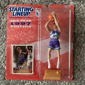 NIB 1997 Kenner Starting Lineup NBA Utah Jazz John Stockton Basketball Toy