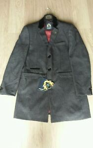 Men 40r Jacket Marc Darcy Black Sale Colour Cheap Designer Messi Size Harrington rq7rwXx