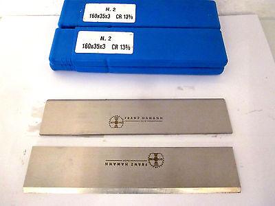 ( 29€ / 10 Stück) Hobelmesser 160x35x3 Cr13% (10 Stück) Neu.