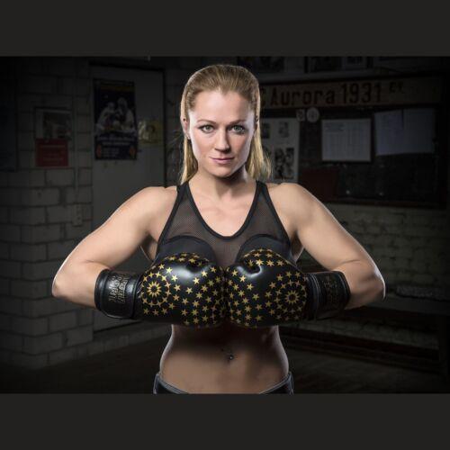 12oz 10oz Gr Boxen, Lady Frauenboxhandschuh von Paffen Sport Kunstleder
