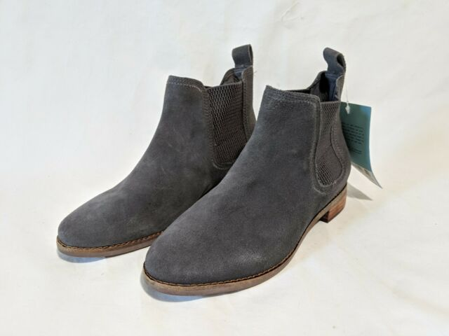 Authentic Toms Womens Tribal BOOTS Grey