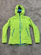 NEW Dynafit Denali Gore WS Primaloft Green Womens Small Ski Coat Jacket Ret$400