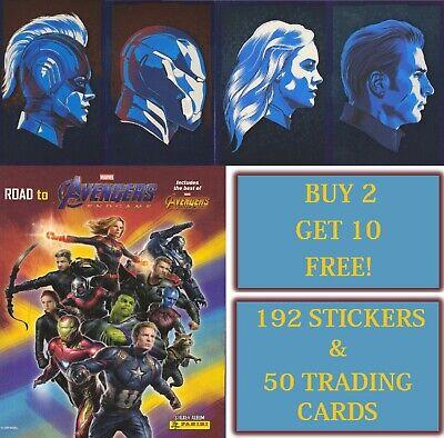 Road To Marvel Avengers Endgame New Empty Panini Sticker Album