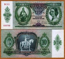 Hungary 10 Pengo 1936 UNC Pick 100