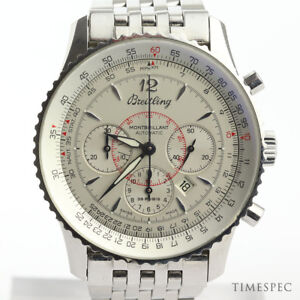 Details About Breitling Navitimer Montbrillant A41330 38mm Automatic Chronograph