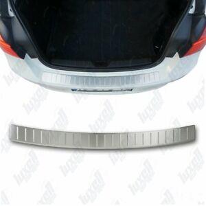 BMW-1Seri-F20-F21-2011-2015-Chrome-Rear-Bumper-Protector-Scratch-Guard-S-Steel