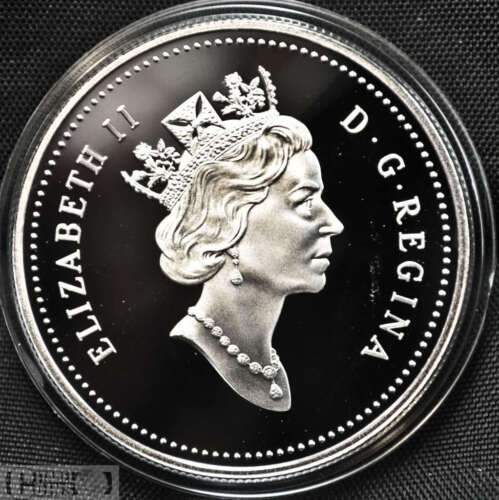 1994 Canada $1 Proof Silver Dollar  RCMP Comm.