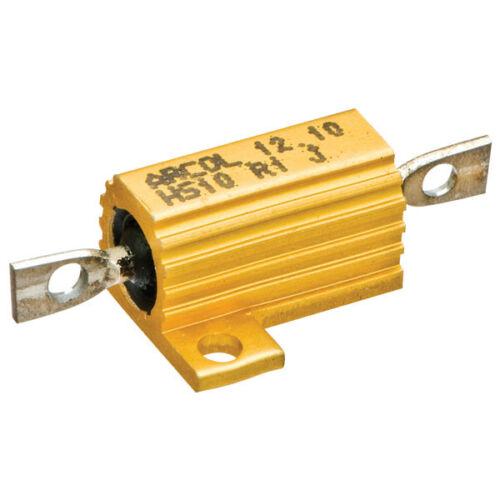 5 Ohm 10W Ohmite//Arcol Aluminum 1/% Mil-Spec Wirewound Resistor