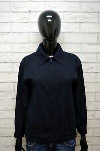 Giacca-Donna-MARELLA-Taglia-L-Blazer-Jacket-Woman-Blu-Vintage-Giubbotto-Giubbino