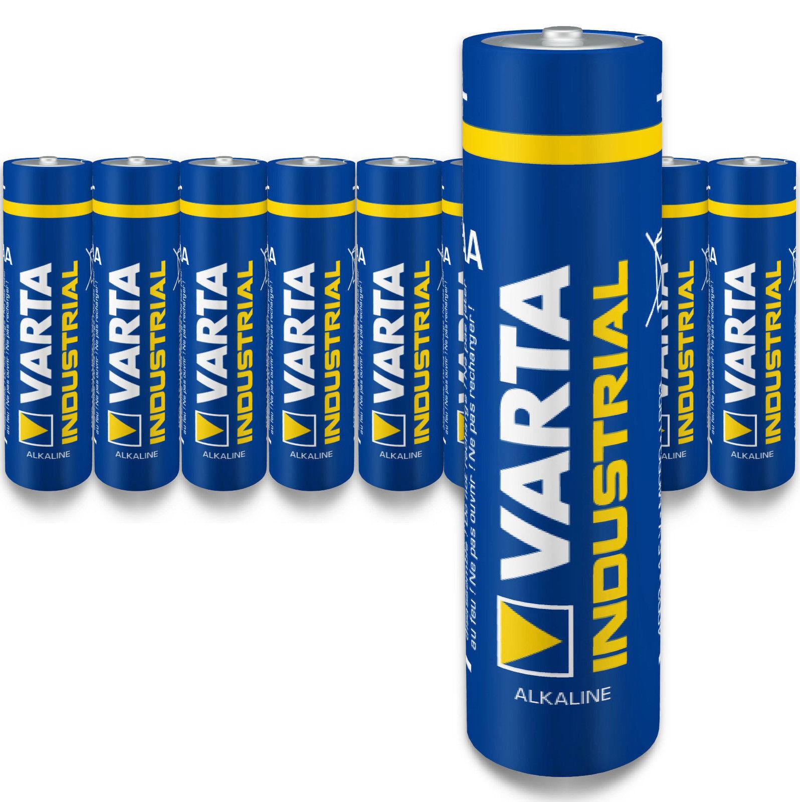 Varta AAA Micro Batterie LR03 1,5V MN2400 Alkaline Industrial Industrial Industrial | Schön geformt  7818af