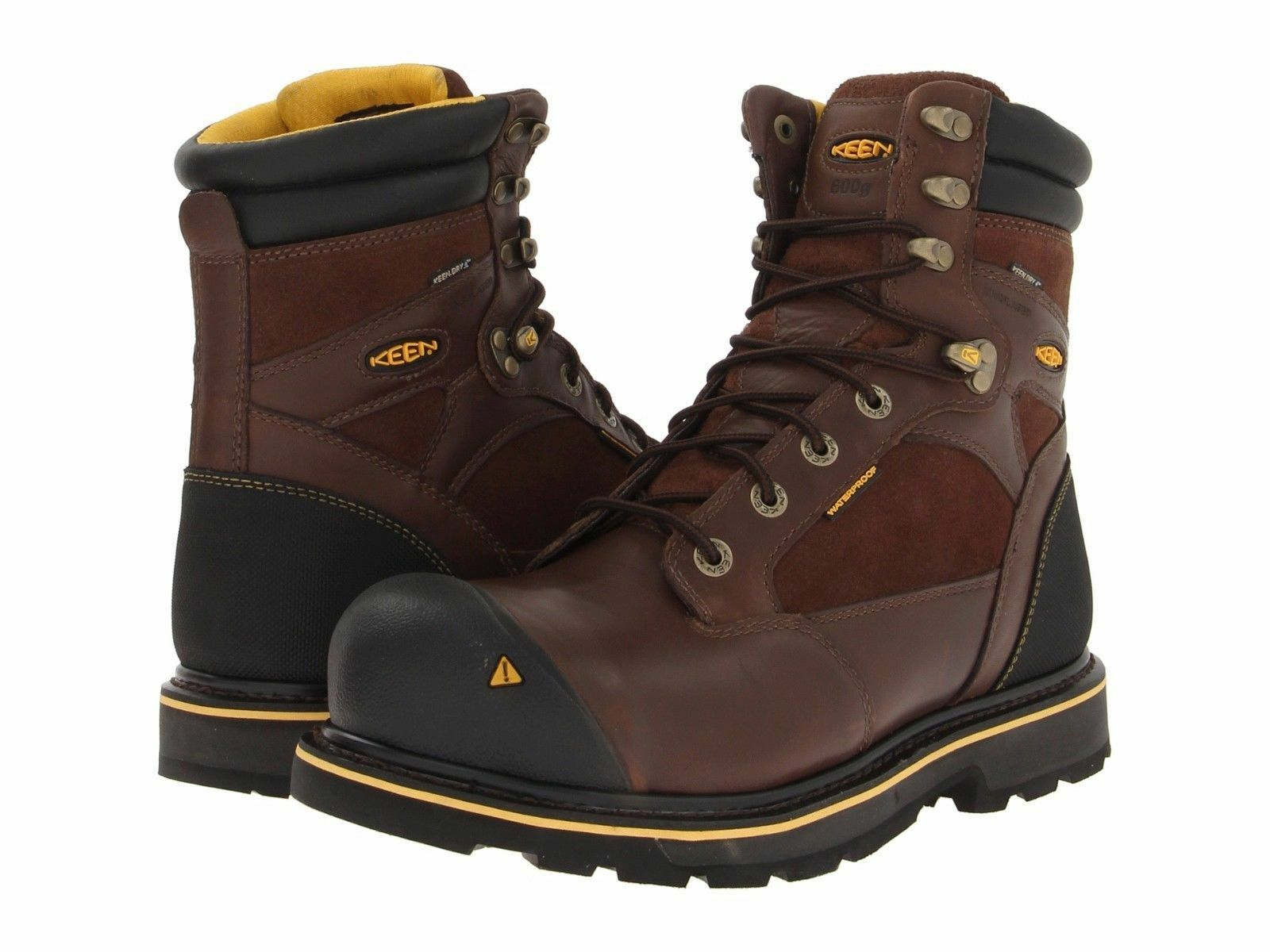 New in Box Mens Keen Utility Sheridan Insulated Comp Toe Toe Toe braun SZ 8 EE MSRP  220 e75d65