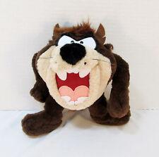 "9"" Six Flags Parks Looney Tunes Plush Tasmanian Devil 1995- Stuffed Animal Taz"