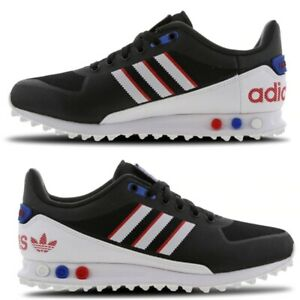 Details about Adidas LA Trainer 2.0 Mens Trainers Special Edition Limited BlackWhiteBlueRed