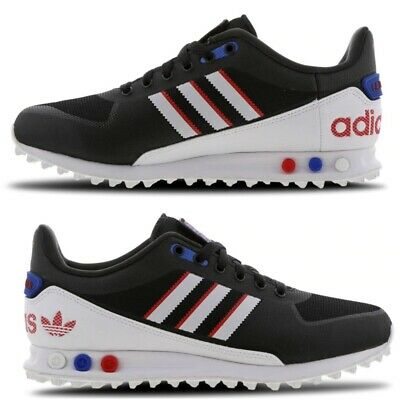 official supplier discount best selling Adidas LA Trainer 2.0 Mens Trainers Special Edition Limited  Black/White/Blue/Red | eBay