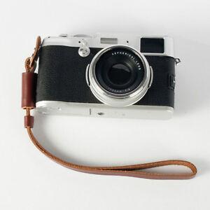 Brown-Camera-Strap-Wrist-Hand-Strap-Leather-Lanyard-for-Sony-Camera-Nikon-DSLR