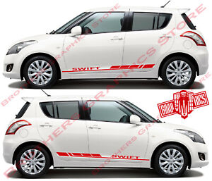 Details About Sport Vinyl Aufkleber Racing Aufkleber Streifen Für Suzuki Swift