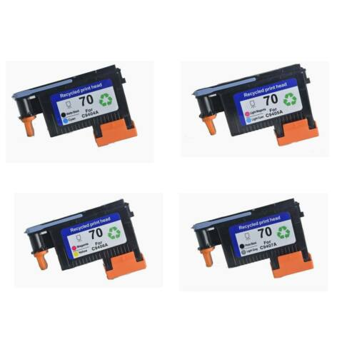 Combo HP 70 ink cartridges and printhead for HP 70 DesignJet z2100 z5200