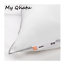 IKEA Firmer Bed Pillow White Standard Queen 20 x 26 Machine Washable Axag NEW