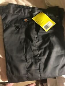 New Dickies Redhawk work Trousers  size 32r Straight Leg no cargo pockets