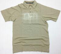 Herren Alloy Mx Freizeit Bekleidung Polo T-shirt Khaki Motocross Golf Shirt Top