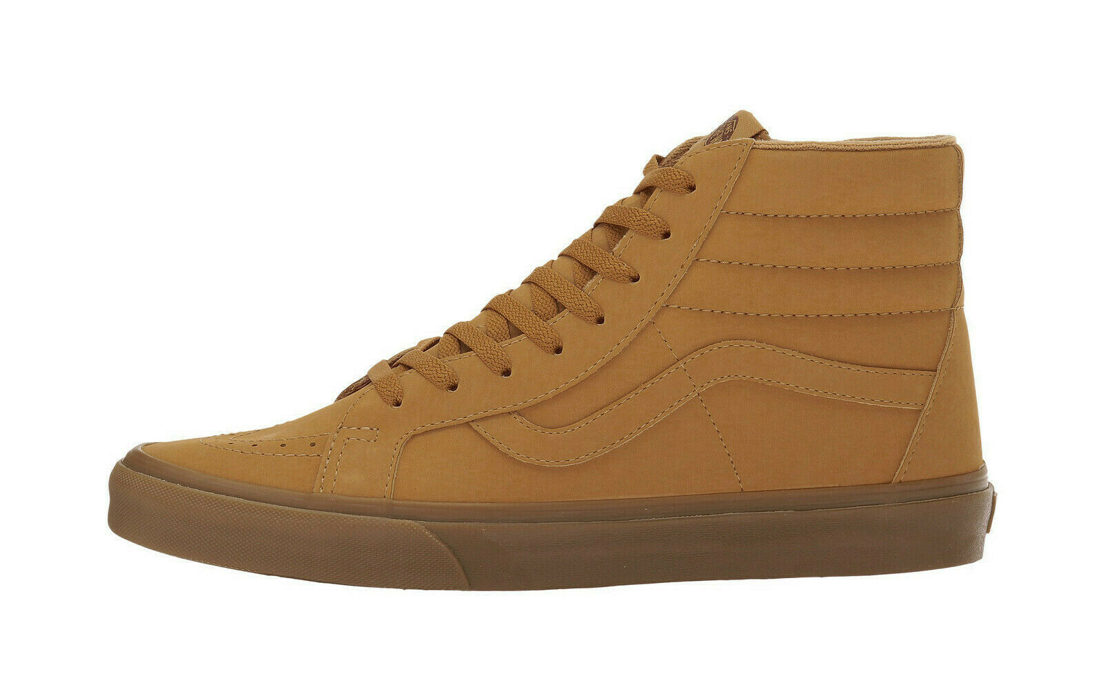Vans zapatos para hombres SK8 HI Reedición vansbuck Sintético Luz De Goma Mono Trigo