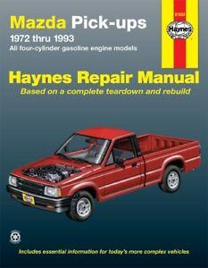 mazda b2200 repair manual