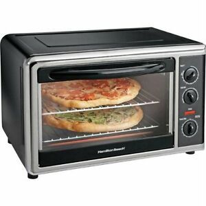 Largest Capacity Countertop Convection Oven : ... > Toaster Ovens > See more Hamilton Beach 31100 Toaster Oven
