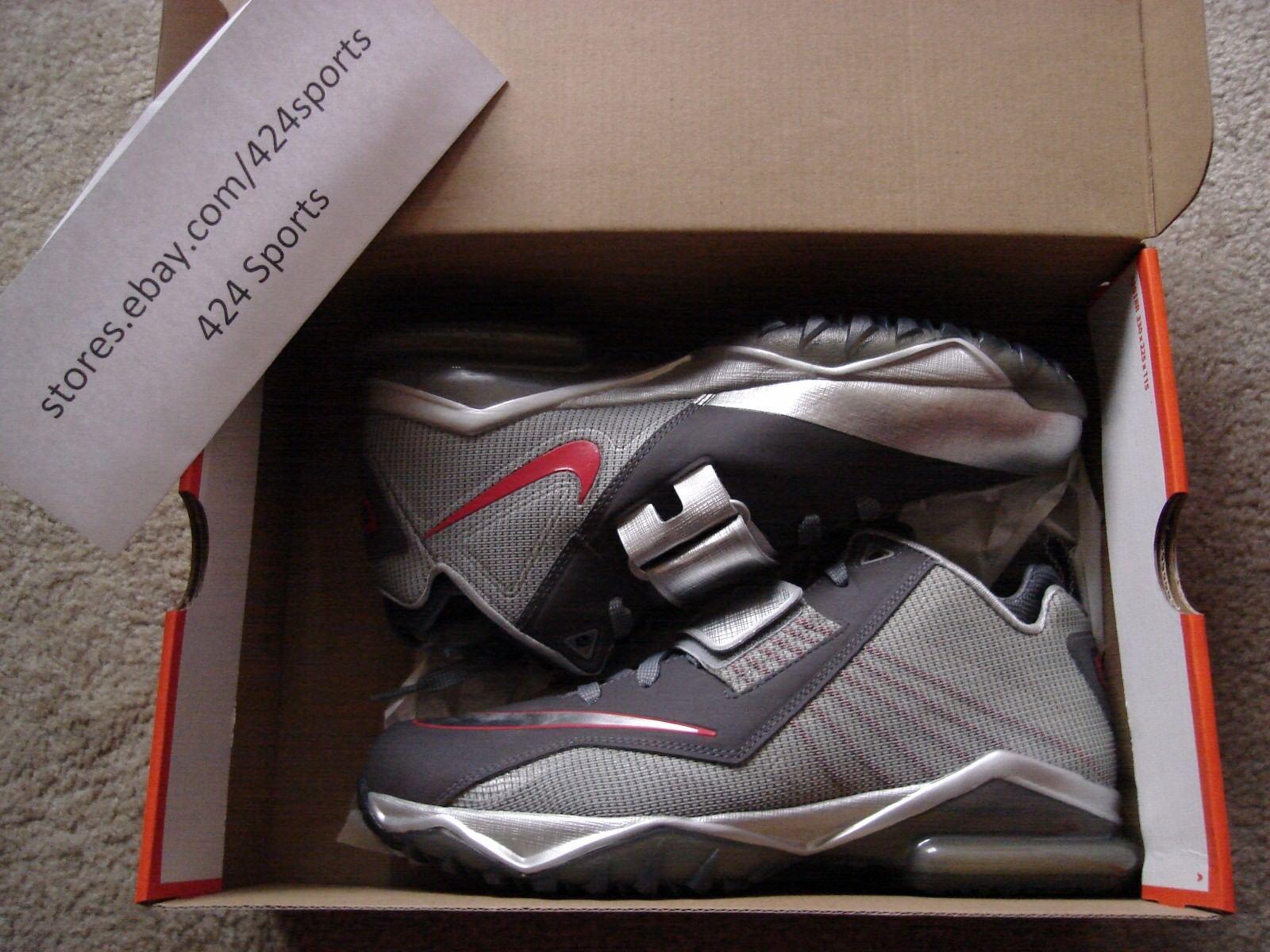 Nike cj 81 dimensioni trainer 2 643258 006 calvin johnson silver leoni nfl