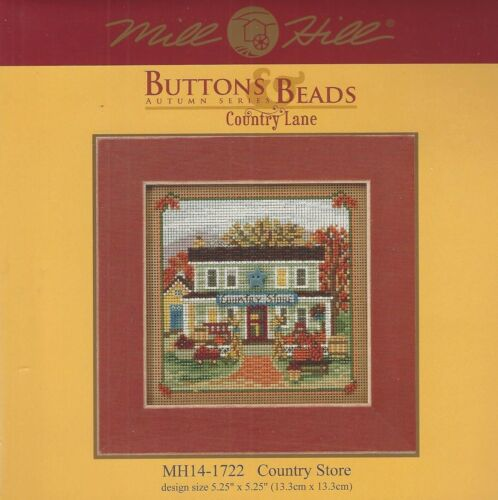 Country Lane Country Store Glass Bead Kit /& Treasure by Mill Hill