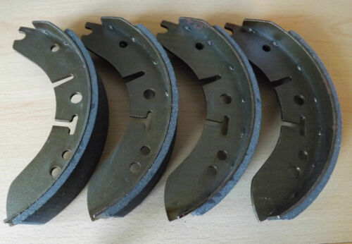 """Gbs705af-HILLMAN HUSKY Series II 8/"""" front brake shoes-Set of 4 1960-1963"""