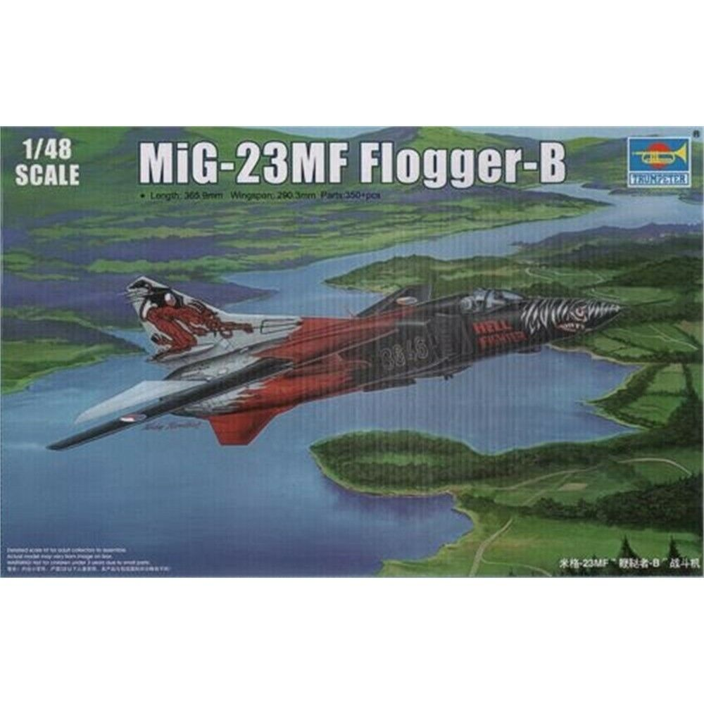 Trumpeter 1 48 Mig-23mf Flogger-b Scale Mig23mf Floggerb